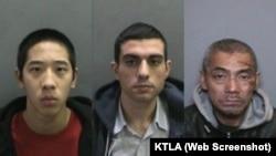 از راست به چپ: باک یو، حسین نیری، جاناتان تیو