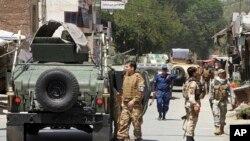Avganistanske bezbjednosne snage (arhivski snimak)
