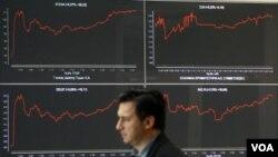 Berbagai bursa saham kembali bergejolak dengan adanya usulan referendum di Yunani.