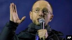 ယူကရိန္းသမၼတ ယန္ႏူကိုဗစ္ခ်္က ဝန္ႀကီးခ်ဳပ္ရာထူး ကမ္းလွမ္းခံရသူ အတိုက္အခံေခါင္းေဆာင္ Arseniy Yatsenyuk