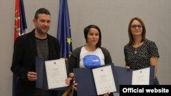 Dobitnici nagrade EU za istraživačko novinarstvo (FoNet, via EUinfo centar)