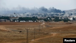 Fighting in Kobani Continues – Friday, Oct. 17