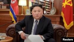 Sjeverno korejski lider Kim Jong Un ( KCNA/via REUTERS).