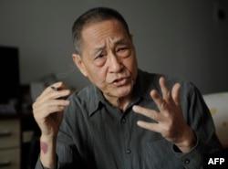 资料照:已故前中共总书记赵紫阳的秘书鲍彤