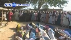 Armed robbers attack village Nigeria's Zamfara Statekilling twenty people.