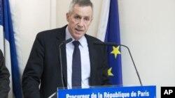 Прокурор Парижа Франсуа Молін