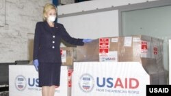 U.S. Ambassador to South Africa Lana Marks said the U.S. Government is donating much needed ventilators.