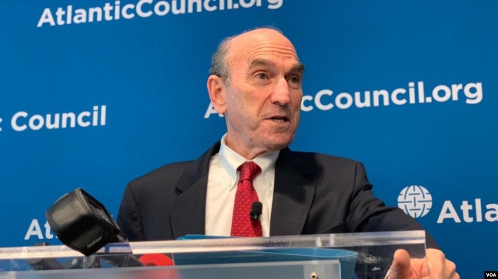 Đặc sứ Elliott Abrams nói về Venezuela tại Hội đồng Đại Tây Dương