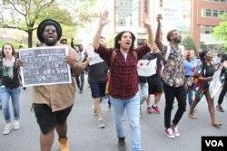 巴尔的摩学生大规模示威