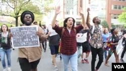 巴尔的摩的抗议活动