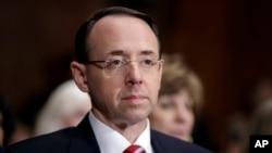 Wakil Jaksa Agung AS, Rod Rosenstein (foto: dok).