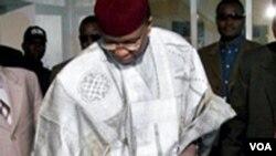 Militer Niger menggulingkan Presiden Niger Mamadou Tandja ini bulan Februari 2010.