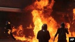 La violencia ha arreciado en Venezuela desde que el presidente Nicolás Maduro anunció que convocará a una Asamblea Constituyente para modificar la carta magna