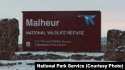 Pintus masuk di cagar alam Malheur dekat kota Burns, negara bagian Oregon (foto: dok).