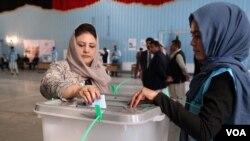 Afghanistani bitabira amatora