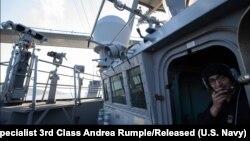 """На борту есмінця ВМС США """"Росс"""", 23 лютого, 2020 року"""