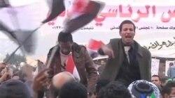 2011-11-25 粵語新聞: 埃及示威者擠滿解放廣場要求變革