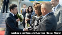 Президент Украины Владимир Зеленский прибыл с официальным визитом в Канаду. 2 июня 2019 г.
