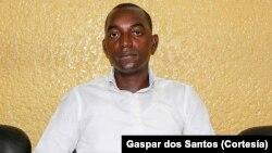 Isaías Domingos Kalunga, presidente do Conselho Provincial da Juventude de Luanda