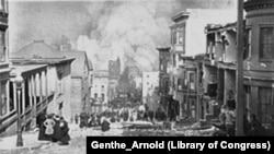 San Francisco Earthquake Fire