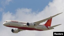 Pesawat Air India Airlines Boeing 787. (Foto: Ilustrasi)