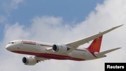Pesawat Air India Airlines Boeing 787. (Foto: Ilustrasi)