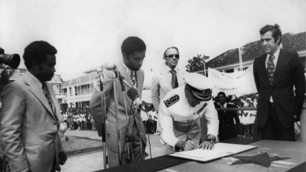 Proclamação da Independência de São Tomé e Príncipe