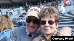 Jerry Reid and his wife Susan.
