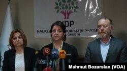 HDP Eşbaşkanları Pervin Buldan ve Sezai Temelli