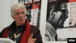Нинетто Даволи на презентации программы в Нью-Йорке