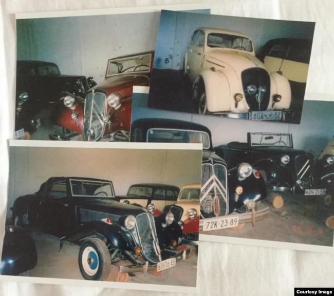 Bộ sưu tập xe-một trong số rất nhiều tài sản của ông Bình tại Việt Nam.