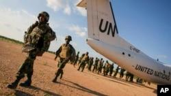 Pasukan penjaga perdamaian PBB di Afrika (foto: dok).