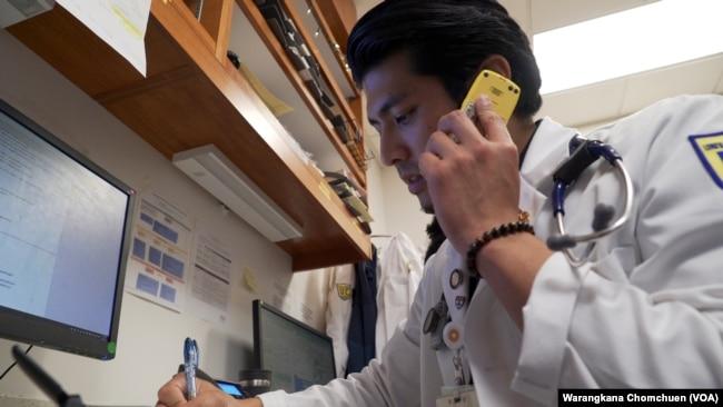 Jirayuth Latthivongskorn, a DACA recipient, is a resident at ZSFG hospital, San Francisco