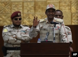 Sudanese Gen. Mohammed Hamdan Dagalo, the deputy head of the military council in Sudan.