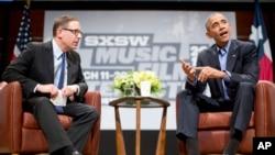 """اوباما اولین رئیس جمهوری است که در فستیوال """"غرب بوسیله جنوب غربی"""" شرکت کرده است."""