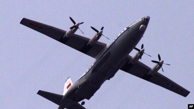 中国军机三次进入韩国防空识别区