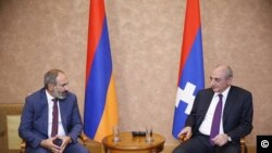 Bako Sahakyan and Pashinyan