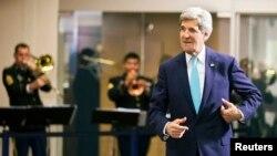 امریکی وزیر خارجہ جان کیری ( فائل فوٹو )