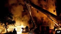 En el segundo incendio de hoy lunes no hay heridos de gravedad, según informe preliminar.