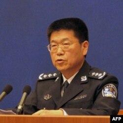 中国公安部发言人武和平
