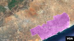 ເມືອງ Afgoye ໃກ້ກັບນະຄອນ Mogadishu ປະເທດ Somalia.