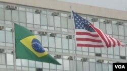 La secretaria Clinton destacó las relaciones entre Estados Unidos y Brasil.