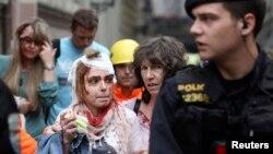 Од евакуацијата по експлозијата во Прага