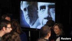 民主黨人奧巴馬總統與挑戰者共和黨人羅姆尼的競選影片