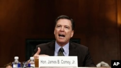 James Comey testificou no Senado