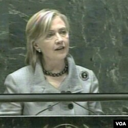 Američka državna tajnica Hillary Clinton