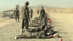 Afghan Recruits Train for Guerrilla War
