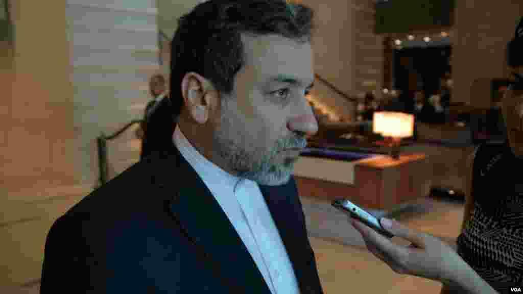 عباس عراقچی معاون وزیر خارجه ایران