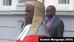 Chief Justice of the Supreme Court, Luke Malaba.