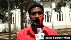 Jesse Lourenço, activista detido por ocasião da visita do PR a Malanje,
